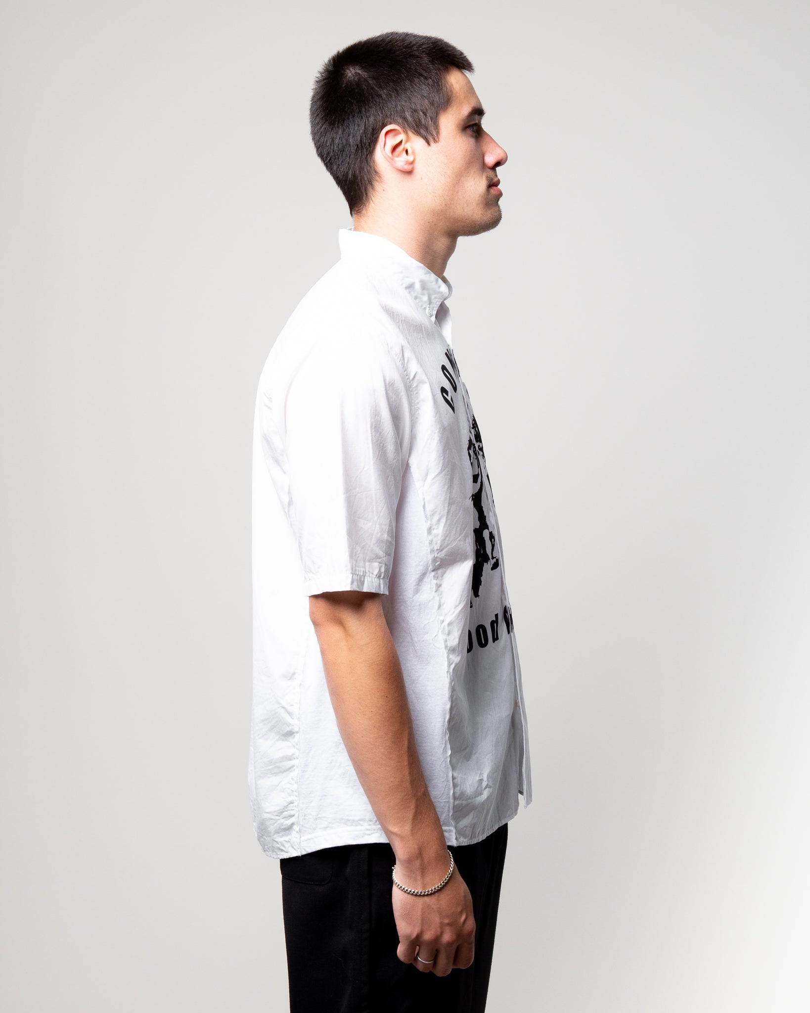 Conflict SS Shirt White