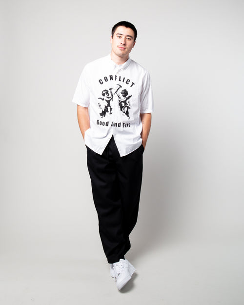 Conflict SS Shirt White 2