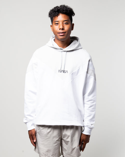 Space Agency Hoodie White 1