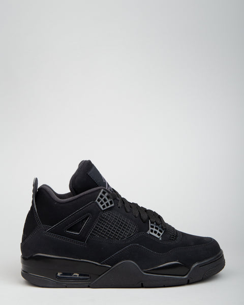 Air Jordan 4 Retro Black/Black/Light Graphite