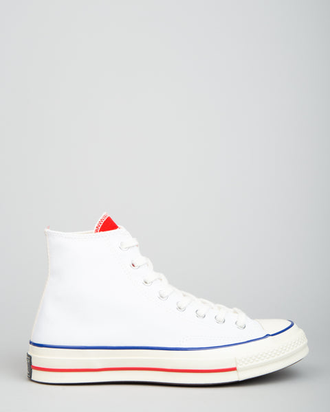 Chuck 70 HI White/University Red/Egret