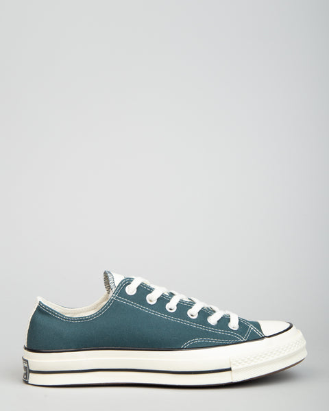Chuck 70 OX Faded Spruce/Black/Egret