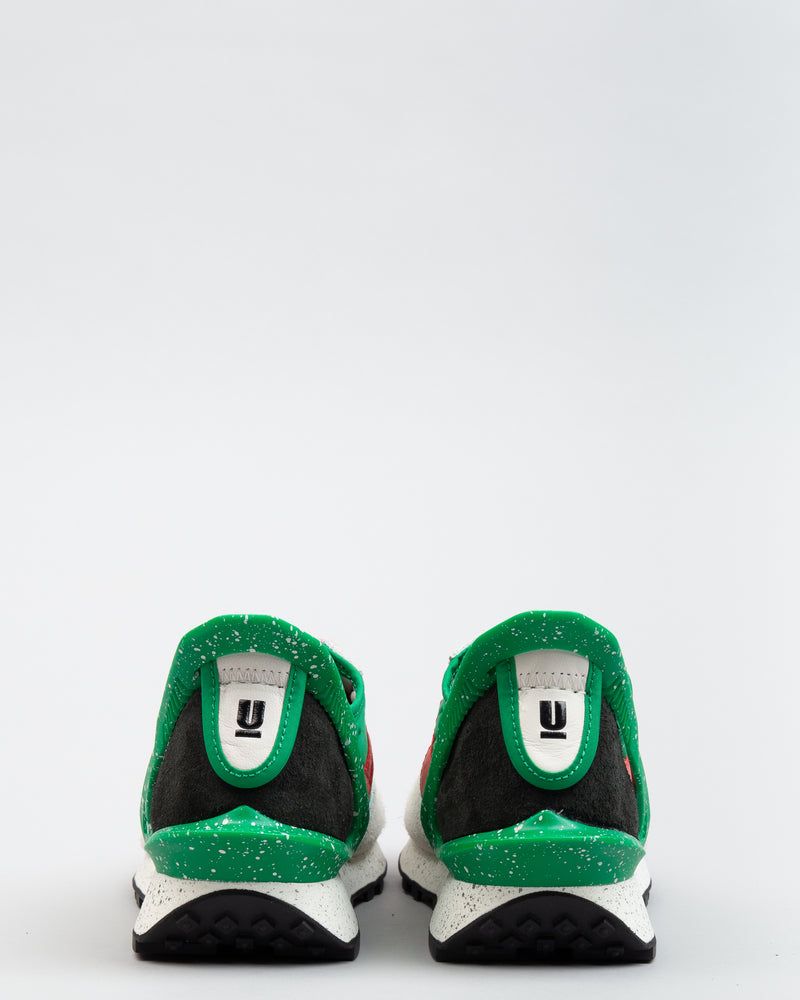 UNDERCOVER Daybreak Lucky Green/University Red/Sail