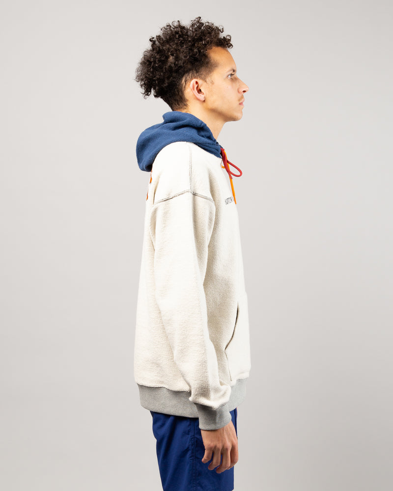 Footpatrol Split Pullover Hoodie Heather Grey