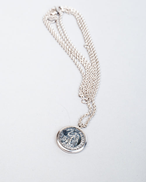 Coin Pendant Angel 2