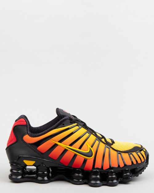 Shox TL Black/Black/Amarillo/University Red 1