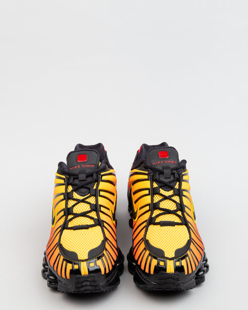 Shox TL Black/Black/Amarillo/University Red 2