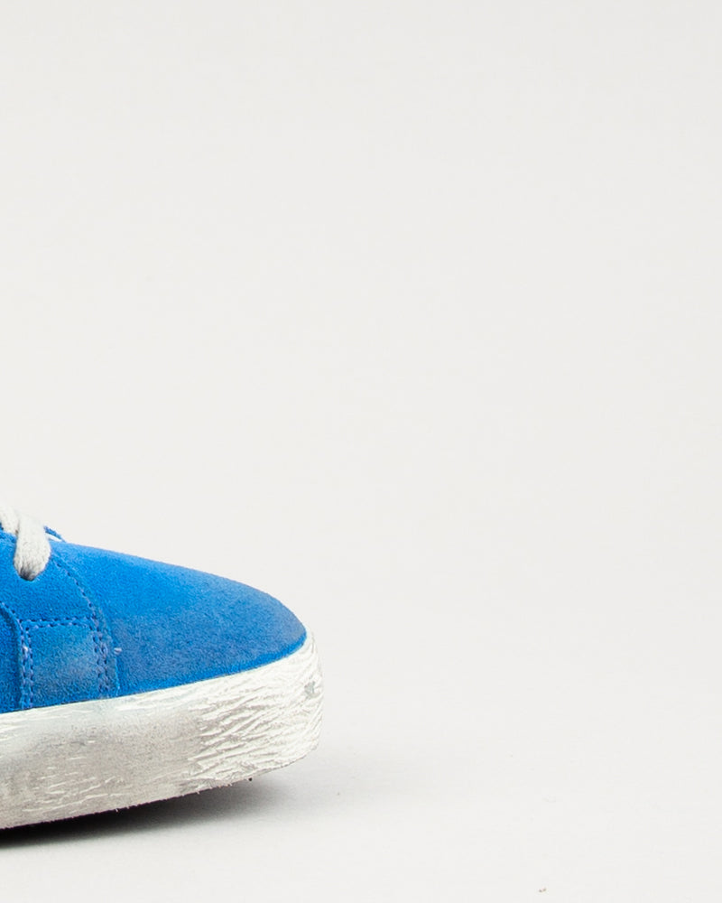Superstar Blue Electric Suede/Silver Star