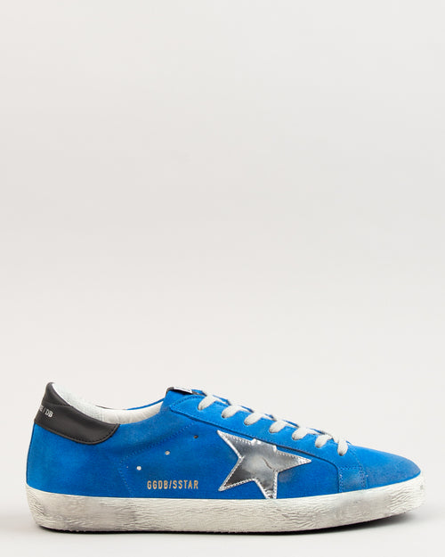 Superstar Blue Electric Suede/Silver Star 1