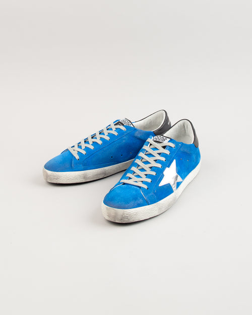 Superstar Blue Electric Suede/Silver Star 2