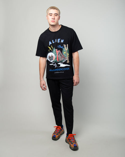 JUX4891-1 Alien Abduction Tee Black 2