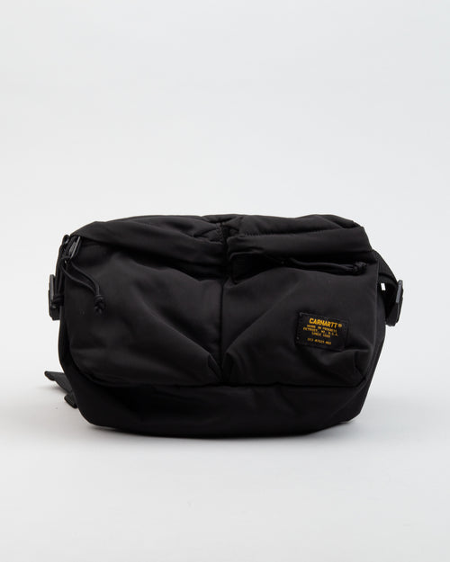 Military Hip Bag Black/Black 1