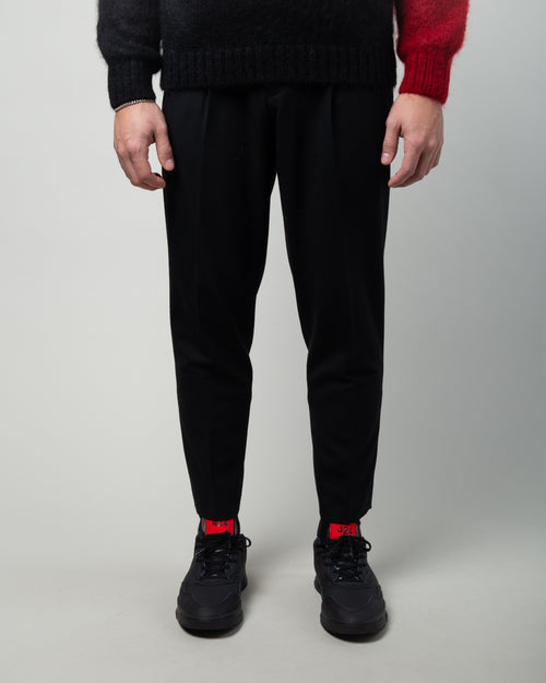 JUX4502 Wool Trousers Black 1