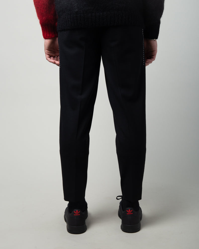 JUX4502 Wool Trousers Black