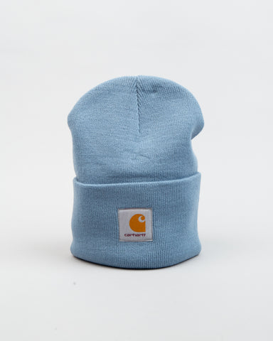 Acrylic Watch Hat Cold Blue