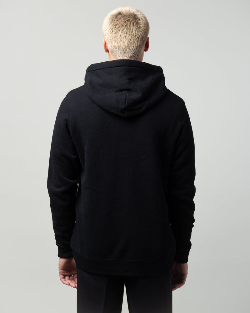 JUX4893-2 House Graphic Hoodie Black