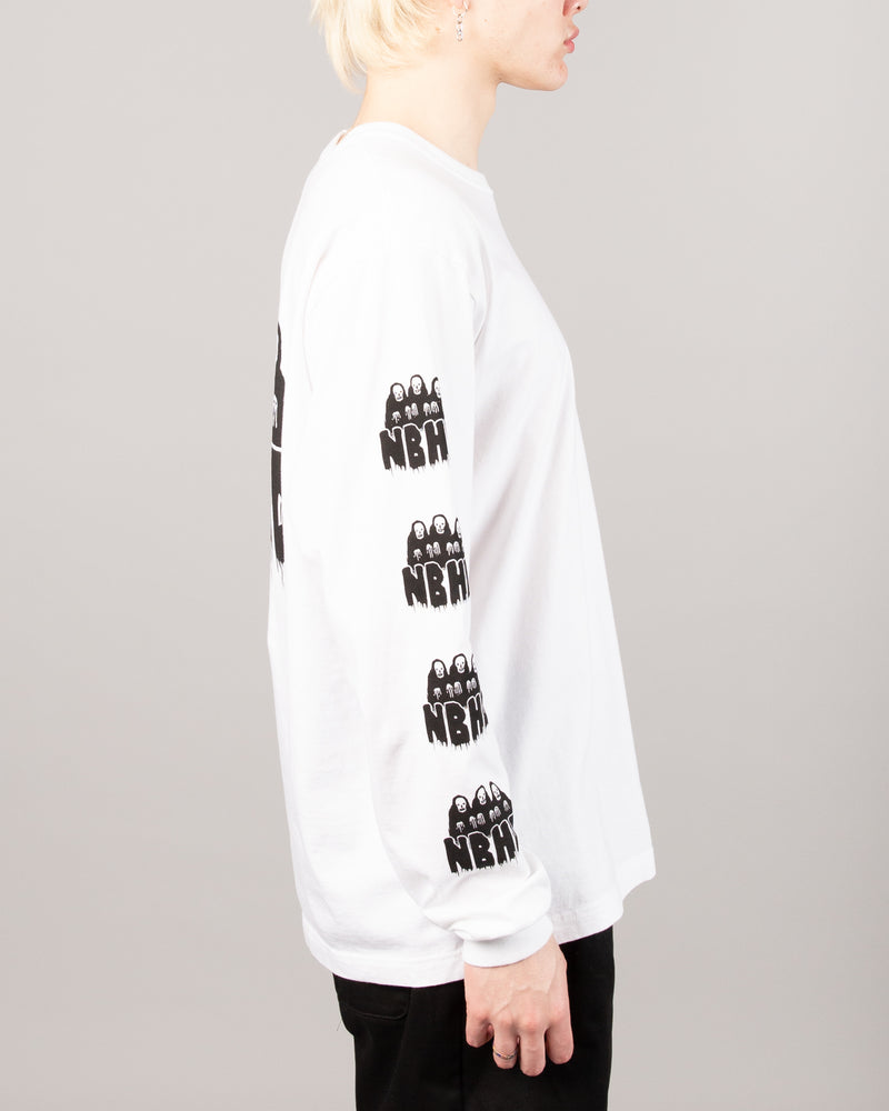 Static Age LS Tee White