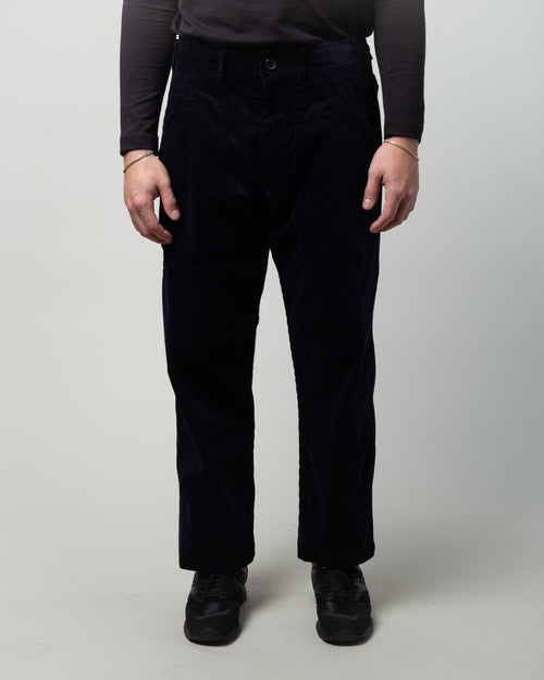 Corduroy Trousers Navy 1