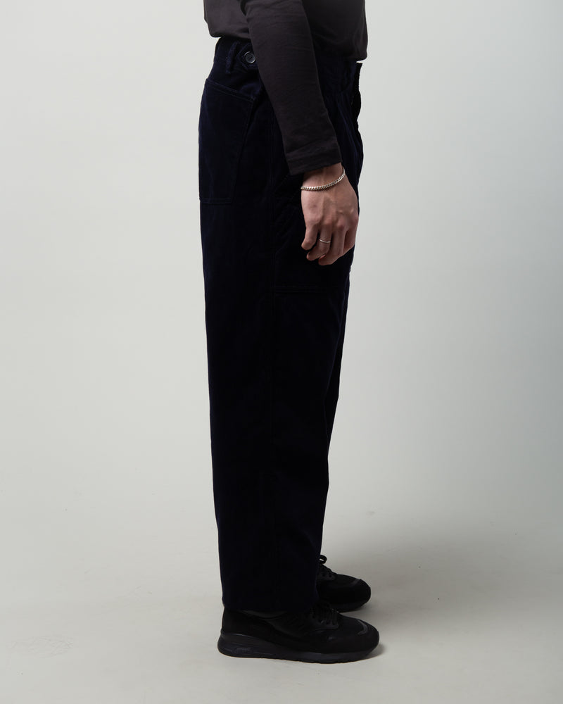 Corduroy Trousers Navy