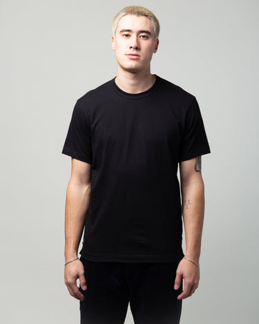Side Zip T-Shirt Black 1