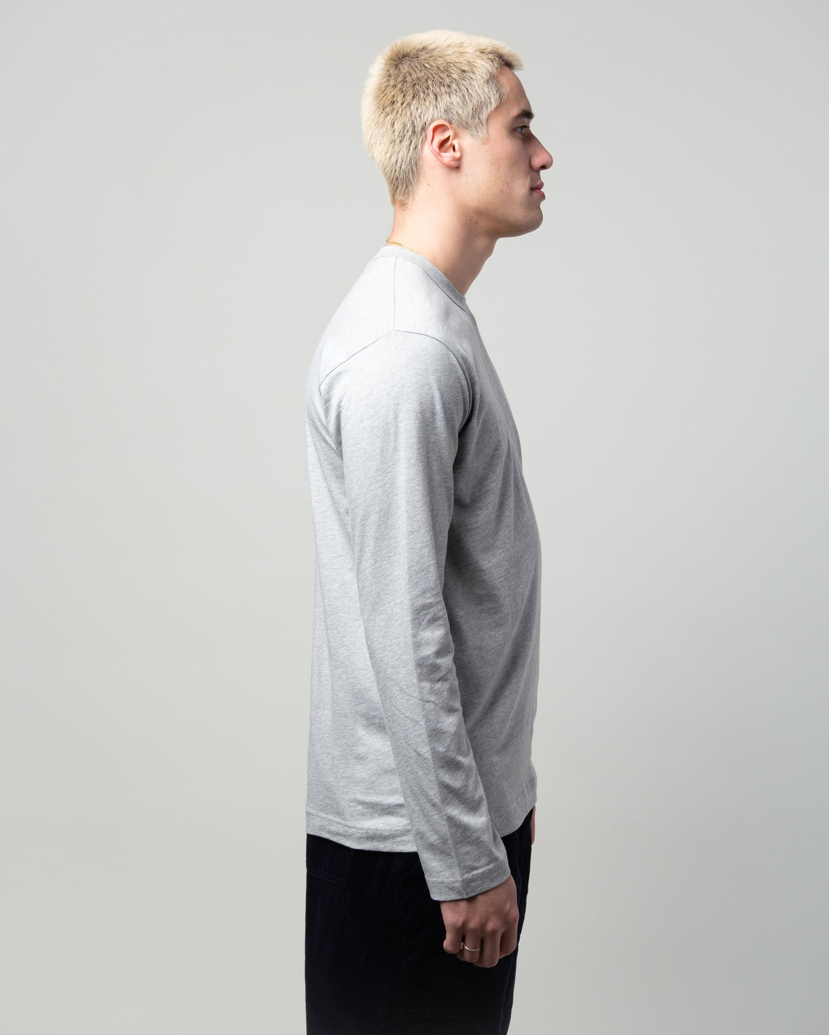 Logo LS T-Shirt Grey