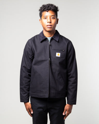 Detroit Jacket Black Rigid