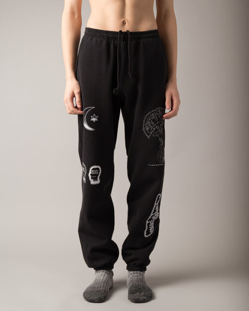 Gustavo Sweatpants Black 1