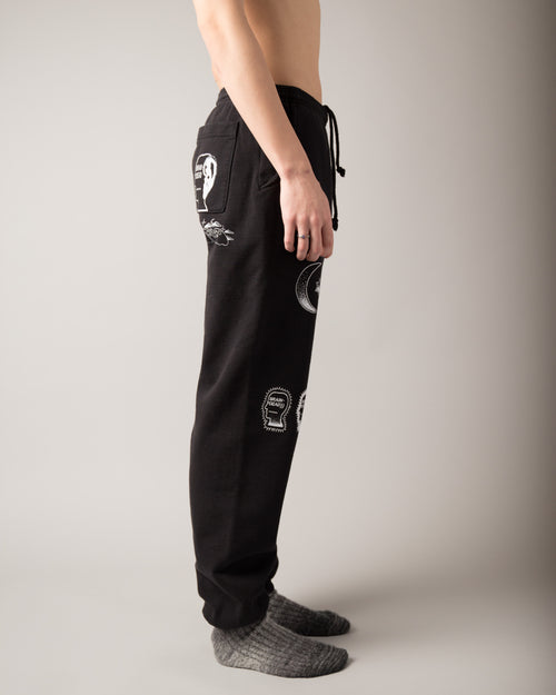 Gustavo Sweatpants Black 2
