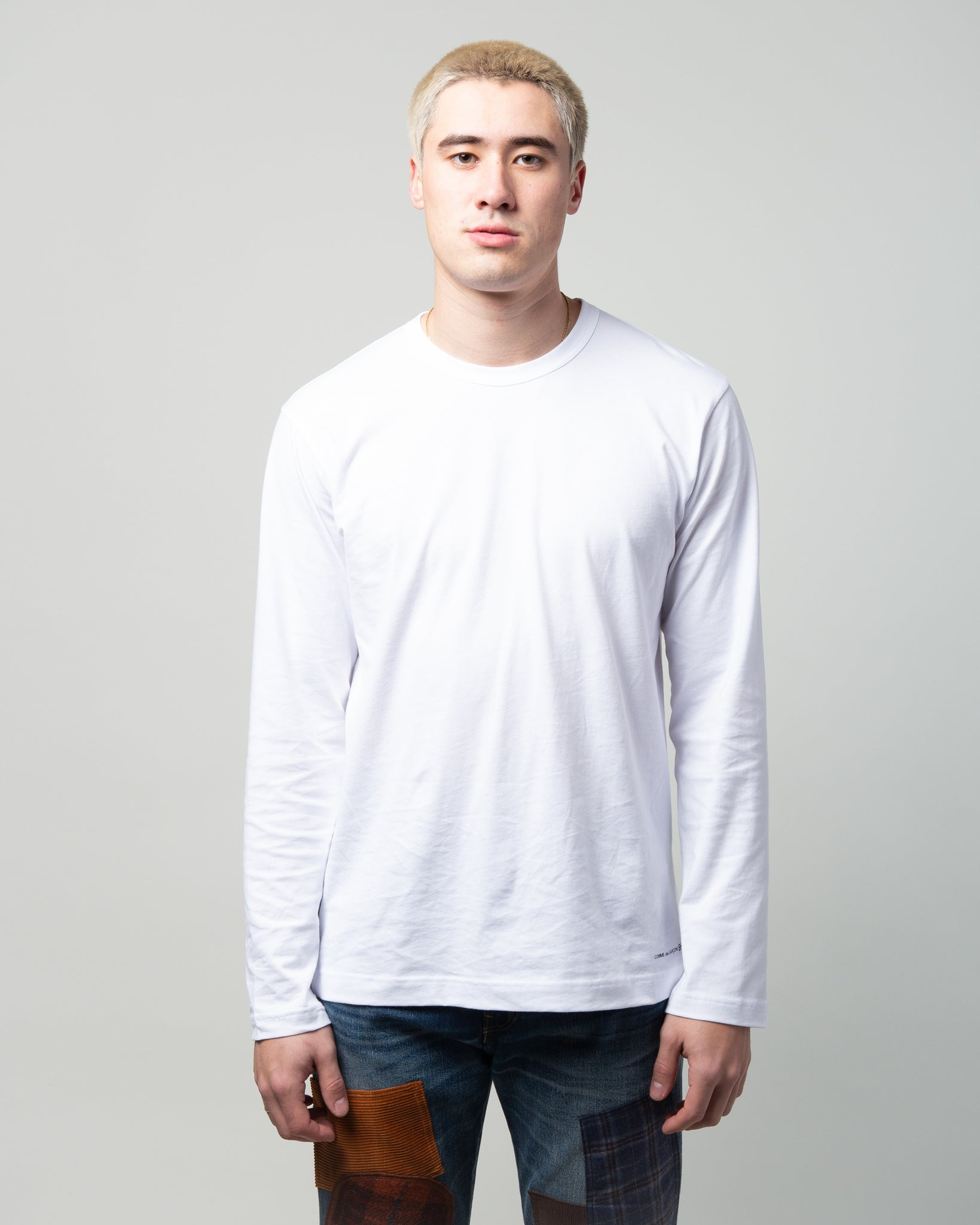 Logo LS T-Shirt White