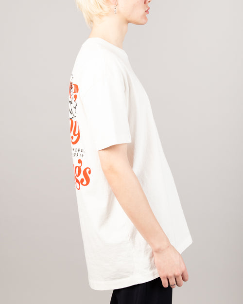 No More Happy Endings Tee White 2
