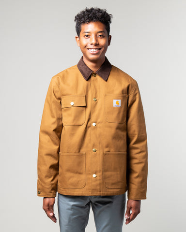 Michigan Coat Hamilton Brown Rigid