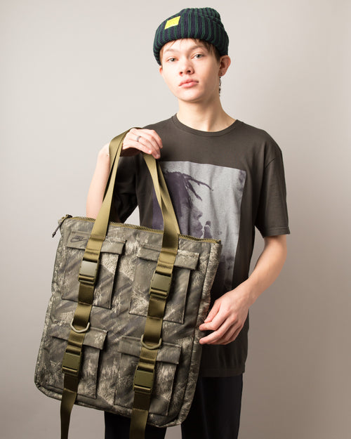 Pocket Tote Olive Canvas/Olive Canvas/Black 2