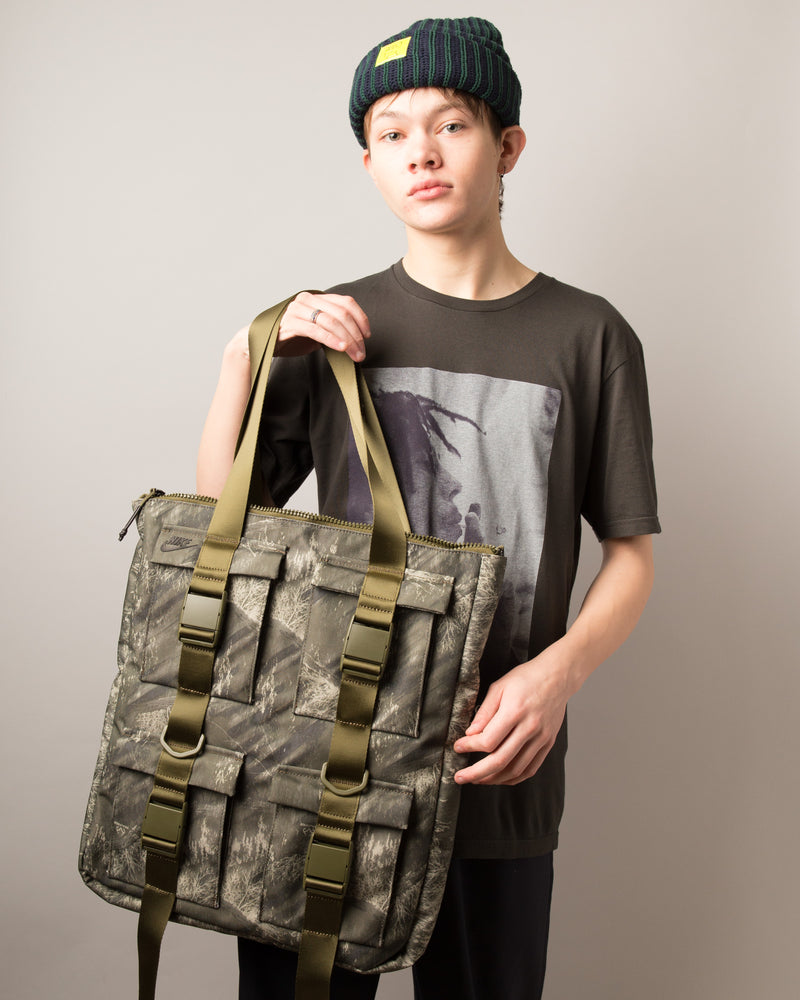 Pocket Tote Olive Canvas/Olive Canvas/Black