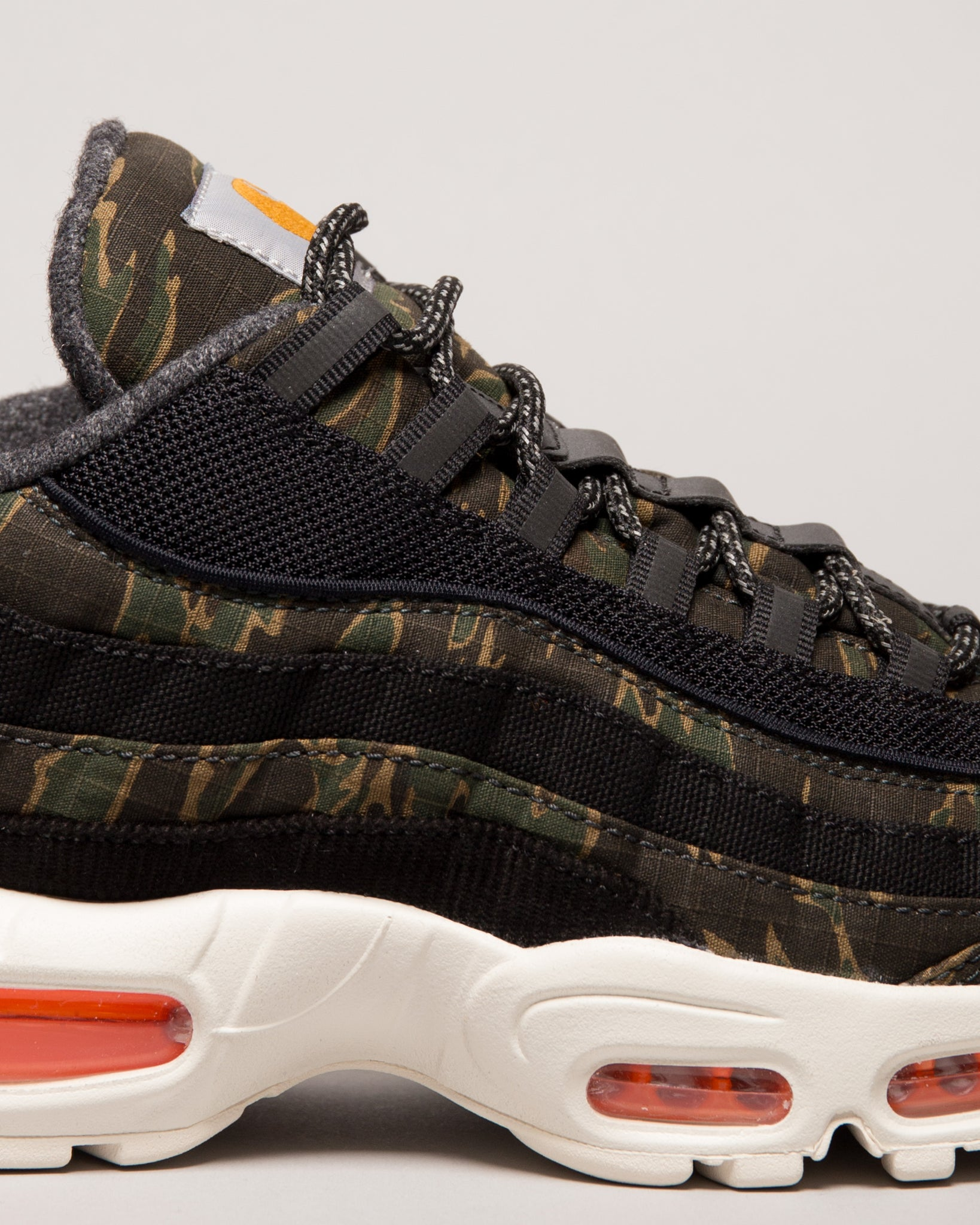 Carhartt WIP Air Max 95 Black/Total Orange/Sail