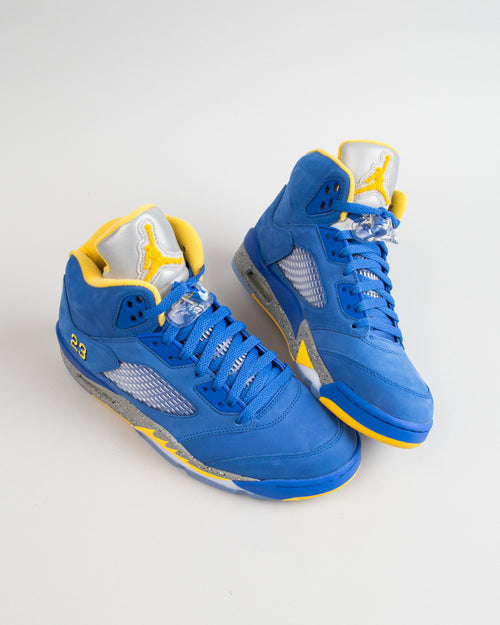 Air Jordan 5 Laney JSP Varsity Royal/Varsity Maze 2