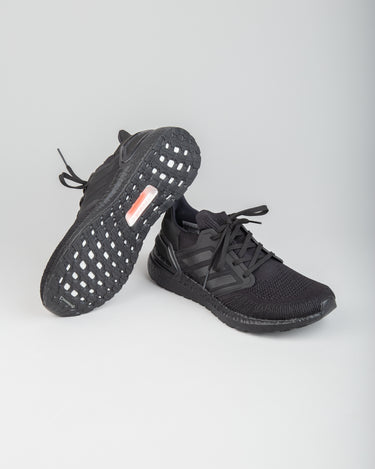 Ultraboost 20 Black/Black/Solar Red 2