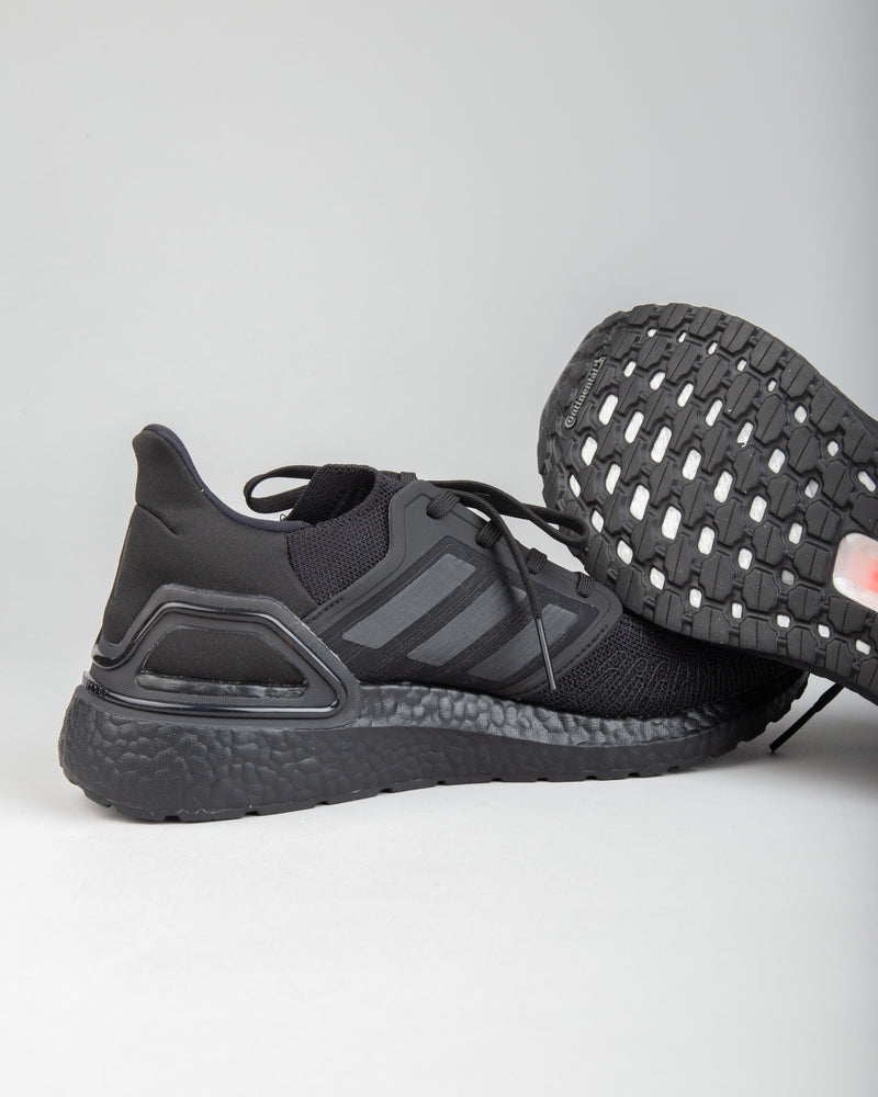 Ultraboost 20 Black/Black/Solar Red