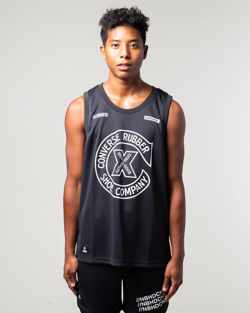 NEIGHBORHOOD Mesh Jersey Black 1