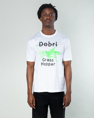 Grasshopper Graphic T-Shirt White 1