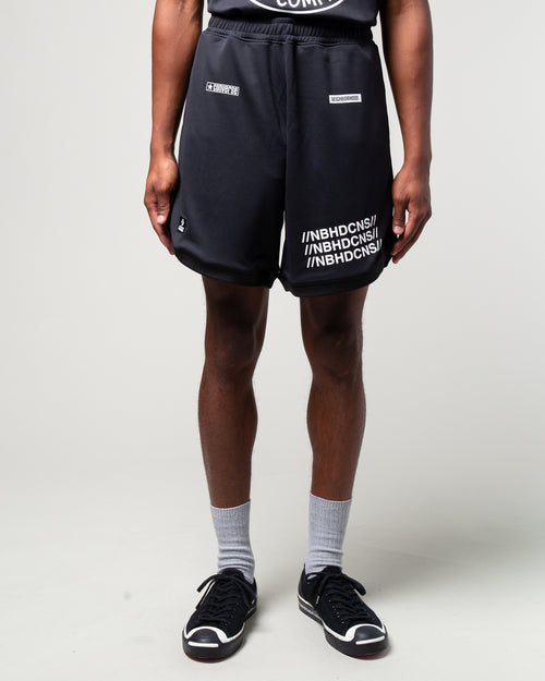 NEIGHBORHOOD Mesh Short Black 1