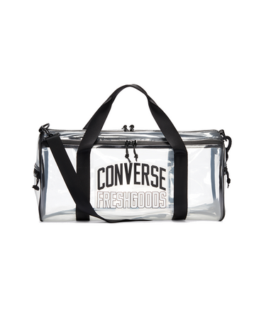 Joe Freshgoods Duffel Bag Clear/Black 1