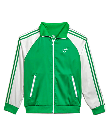 Human Made Track Top Firebird Green 1