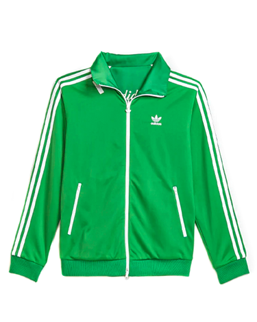 Human Made Track Top Firebird Green 2