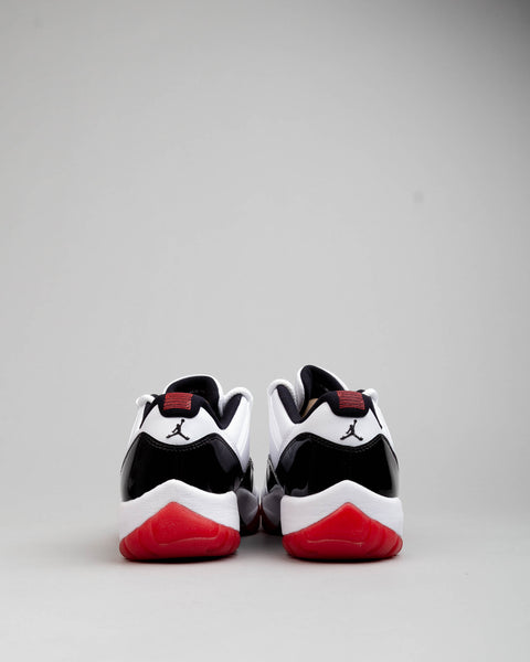 Air Jordan 11 Retro Low White/University Red/Black