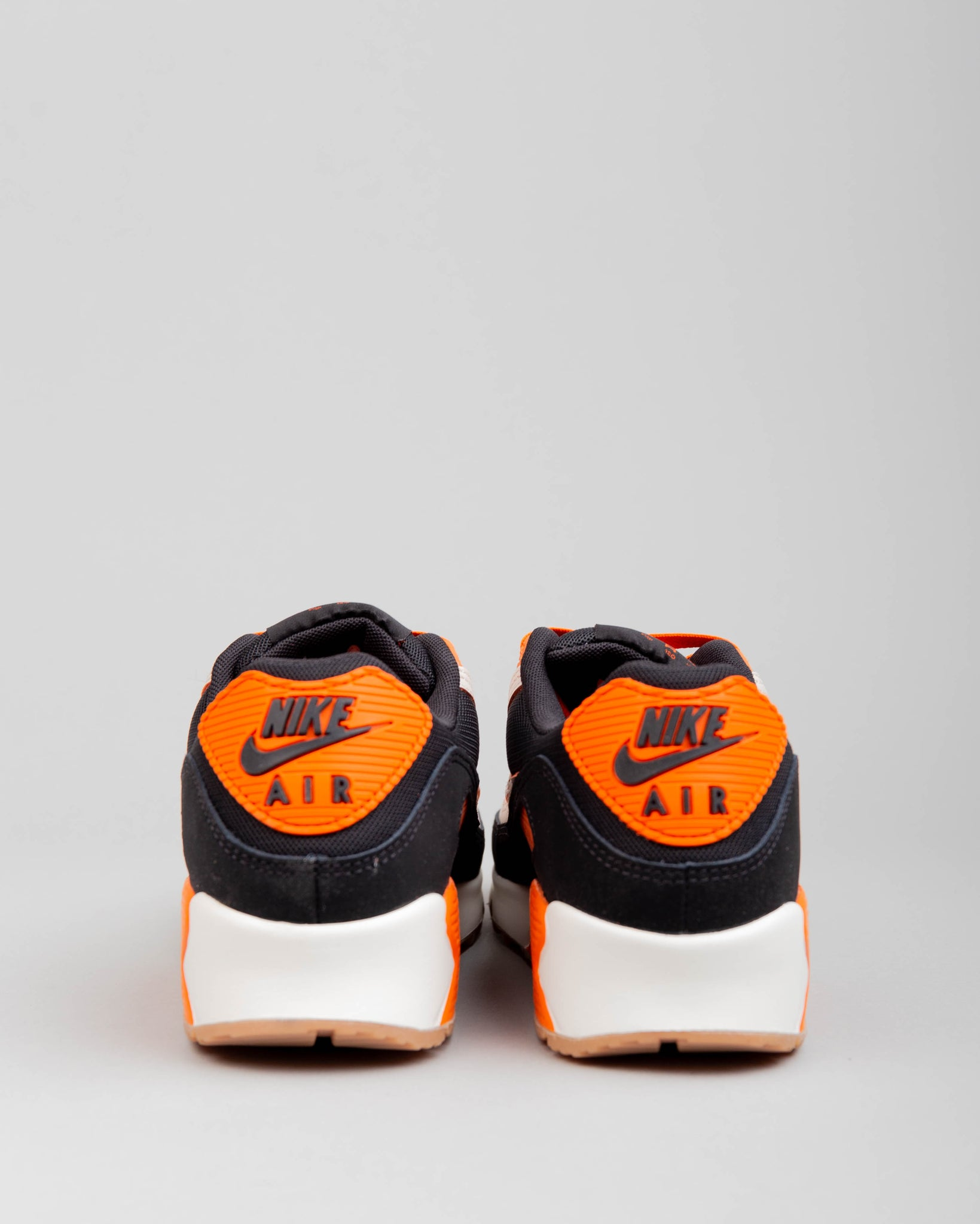 Air Max 90 Premium Sail/Safety Orange/Black