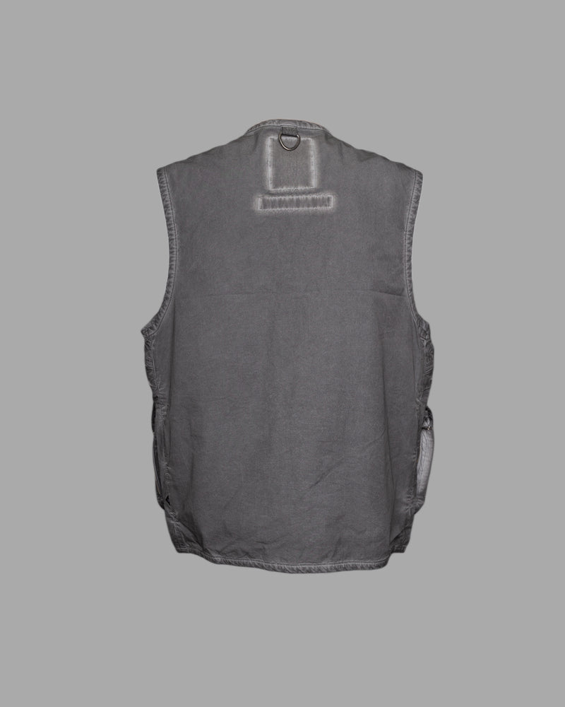 Overdyed Combat Vest Black