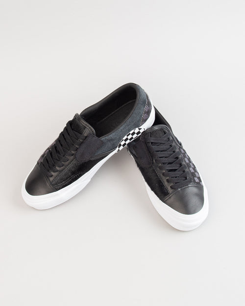 Slip-On Cap LX (PONY) Black/True White 2