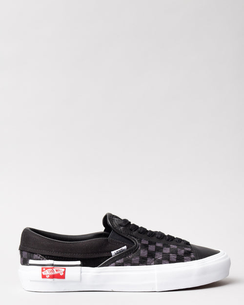 Slip-On Cap LX (PONY) Black/True White 1