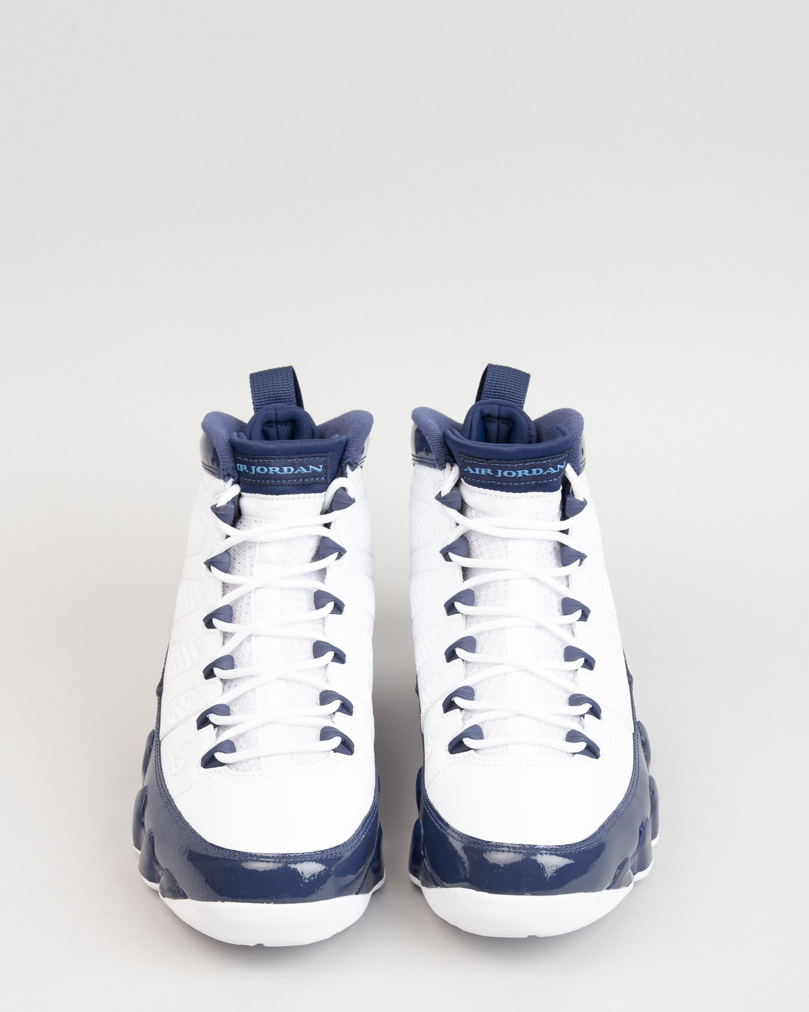 Air Jordan 9 Retro White/University Blue/Midnight Navy