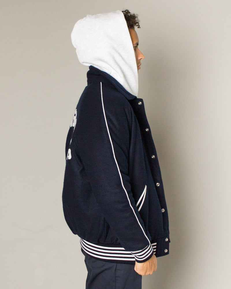 Team Varsity Jacket Navy